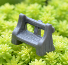 Miniature Dollhouse Garden Craft Fairy Bonsai Decor ~Antique Bench~ 1Pc ☆