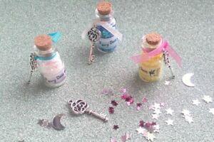Fairy Dust, Cute Fairy Dust Bottle / Fairy Door Key/ Tooth Fairy / Fairy Door