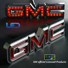 Bosswell Official Licensed Led Light up Gmc Tailgate Emblem for Trucks 7�wide