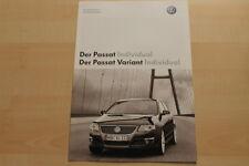 74983) VW Passat + Variant Individual - technische Daten & Ausstattungen - Prosp