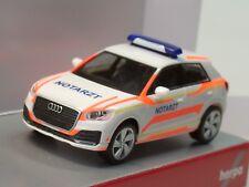 "Herpa Audi Q2 ""Notarzt"" - 093361 - 1:87"