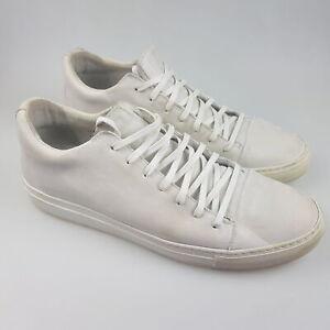 Men's JOHN VARVATOS '315' Sz 11.5 Shoes Bone ExCon Leather | 3+ Extra 10% Off
