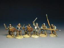 Border Reivers - The Armstrongs ( 6 Unpainted foot figures)