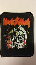 Black Sabbath Grim Reaper RARE Vintage patch Sew On hardrock metal aufnaher