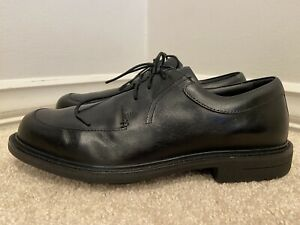 Red Wing Shoes Men Black Leather Apron Toe Size 9D (4074)