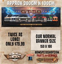 FORD FALCON GT 50 YEARS BANNER ONLY $79.99 XR GT XT GT XW GT XY GT XA GT XB GT