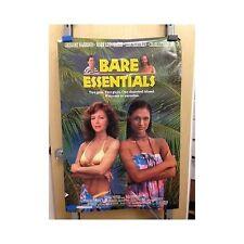 BARE ESSENTIALS Original Home Video Poster