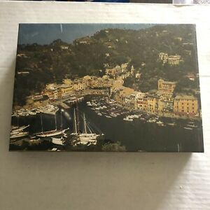 "Vintage 1972 Springbok 300 Piece JIGSAW Puzzle ""Portofino"" New Sealed"
