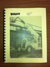 Pettibone 636 Forklift Service Repair Manual