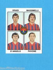 PANINI CALCIATORI 1979/80-Figurina n.476- DRADI+MASSIMELLI+PAVONE.. -TARANTO-Rec