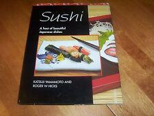 SUSHI Japanese Dishes Fish Japan Delicacy Recipes Katsuji Yamamoto Book