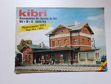 Catalogue Kibri 1983/84 + Roco Faller trains miniatures chemins de fer