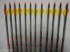 12 Victory VForce Sport 500 Carbon Arrows! WILL CUT TO LENGTH! spine aligned