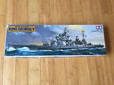 King George V British Battleship 1985 Tamiya 1/350 Plastic Model Kit 78010