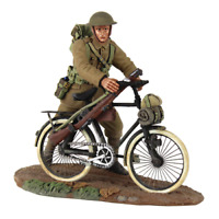Britains 23085 WWI 1916-17 British Infantry Pushing Bicycle No1 - 2 Piece Set