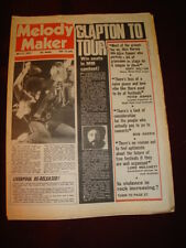 MELODY MAKER 1976 JULY 17 THIN LIZZY ERIC CLAPTON AEROSMITH DAVID ESSEX FAIRPORT