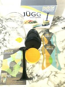 Jugg Nutri Pouch System Fill & Squeeze With 2 Reusable Pouches 750ml- Sports Cup