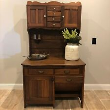 Antique Possum-Belly Kitchen Cupboard / Baker's Cabinet