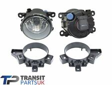 FORD TRANSIT MK8 FOG LIGHT + BRACKET KIT LEFT RIGHT SIDE 2 LAMPS 2014 ON