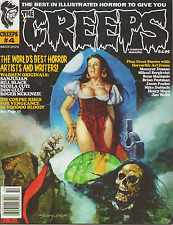 THE CREEPS MAGAZINE #4, -  #12 U-PICK ONE. WARREN STYLE HORROR, COMIC, CREEPY !