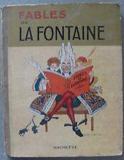 """""""Fables de La Fontaine""""Illustrated by Felix Lorioux (Hachette,1929)"""