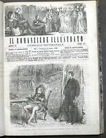 Il Romanziere Illustrato - Giornale di romanzi - 2° semestre 1866