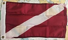 20 x 30' Nyl-Glo Skin Diver Down Flag
