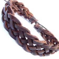 Pulseras Brazalete color principal marrón para hombre