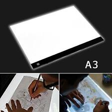 A3 LED Large Art Craft Drawing Tracing Tattoo Light Box Pad Board Lightbox Hot