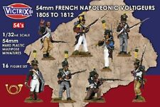 54MM FRENCH NAPOLEONIC VOLTIGEURS 1805-18112- VICTRIX- SENT FIRST CLASS