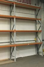 Used Apex Pallet Racking 2 Bay Run - 1400mm Depth – UPR048
