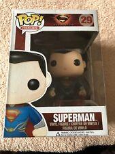 Man Of Steel Superman Funko Pop Vinyl Figure #29 DC Comics Super Heroes