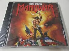 MANOWAR - KINGS OF METAL - 1988 CD ALBUM - NEU - BONUS TRACK PLEASURE SLAVE