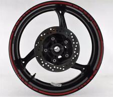 Schwarze Kraftrad Reifen, - Felgen & Suzuki (Original OE)