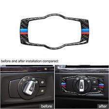 Fibra di carbonio per BMW E90 E92 E93 pulsanti interni in fibra di carbonio H6T9