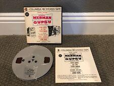 Ethel Merman In Gypsy Robbins Columbia 7 1/2 ips reel-to-reel tape Play Tested