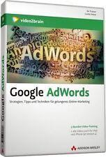 video2brain Google AdWords - 5 Stunden Video-Training auf DVD, NEU