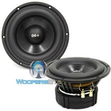 "ES-06+ CDT AUDIO GOLD 6.5"" BLACK MIDRANGE 300 WATTS 4 OHM CAR SPEAKERS PAIR NEW"