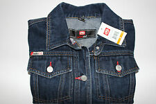 05a39ce9b35 NWT ECKO RED Size Small Women s L S Stonewashed Denim 2 Pocket Jean Jacket