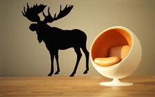 Elk Deer Animal Forest Hunting  Mural  Wall Art Decor Vinyl Sticker z674