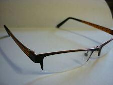Jai Kudo 521 Frames Glasses Eyeglass Spectacle in black and orange  Ref: G194