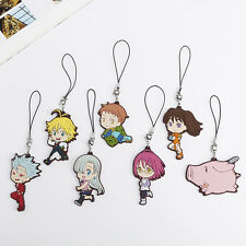The Seven Deadly Sins Charm Mobile Phone Gowther Ban Meliodas Diane Hawk King