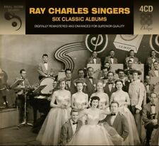 RAY CHARLES SINGERS - 6 CLASSIC ALBUMS  4 CD NEUF