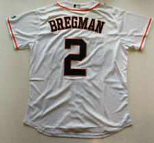 Alex Bregman #2 Houston Astros Baseball Jersey Men Size Medium . Free Shipping