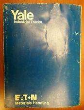 Yale Industrial Trucks Manual Hose Take-Ups & Control Valves ITD-1286 3/79