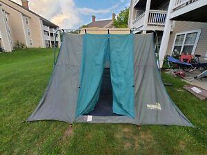 Vintage Winnebago Saratoga ERO#19424 10X14  Canvas Cabin Camping Tent