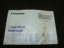 08 2008 KAWASAKI EX650 EX 650 NINJA OWNERS MANUEL #Y8