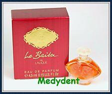 LE BAISER DE LALIQUE EAU DE PARFUM 4.5 ML / 0.15 ML SPLASH FOR WOMEN NIB