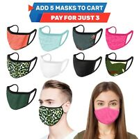 iFab Double Layer Cotton Cloth Fashionable Washable Reusable Face Masks - USA
