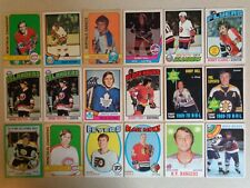 (565) 1970-71 - 1981-82 Topps OPC Vintage Hockey Cards Lot Stars HOF